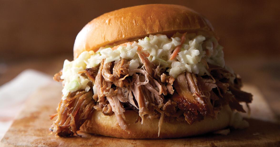 Slow Cooker Pulled Pork Shoulder  Slow Cooked Pulled Pork Shoulder Recipe – Our State Magazine
