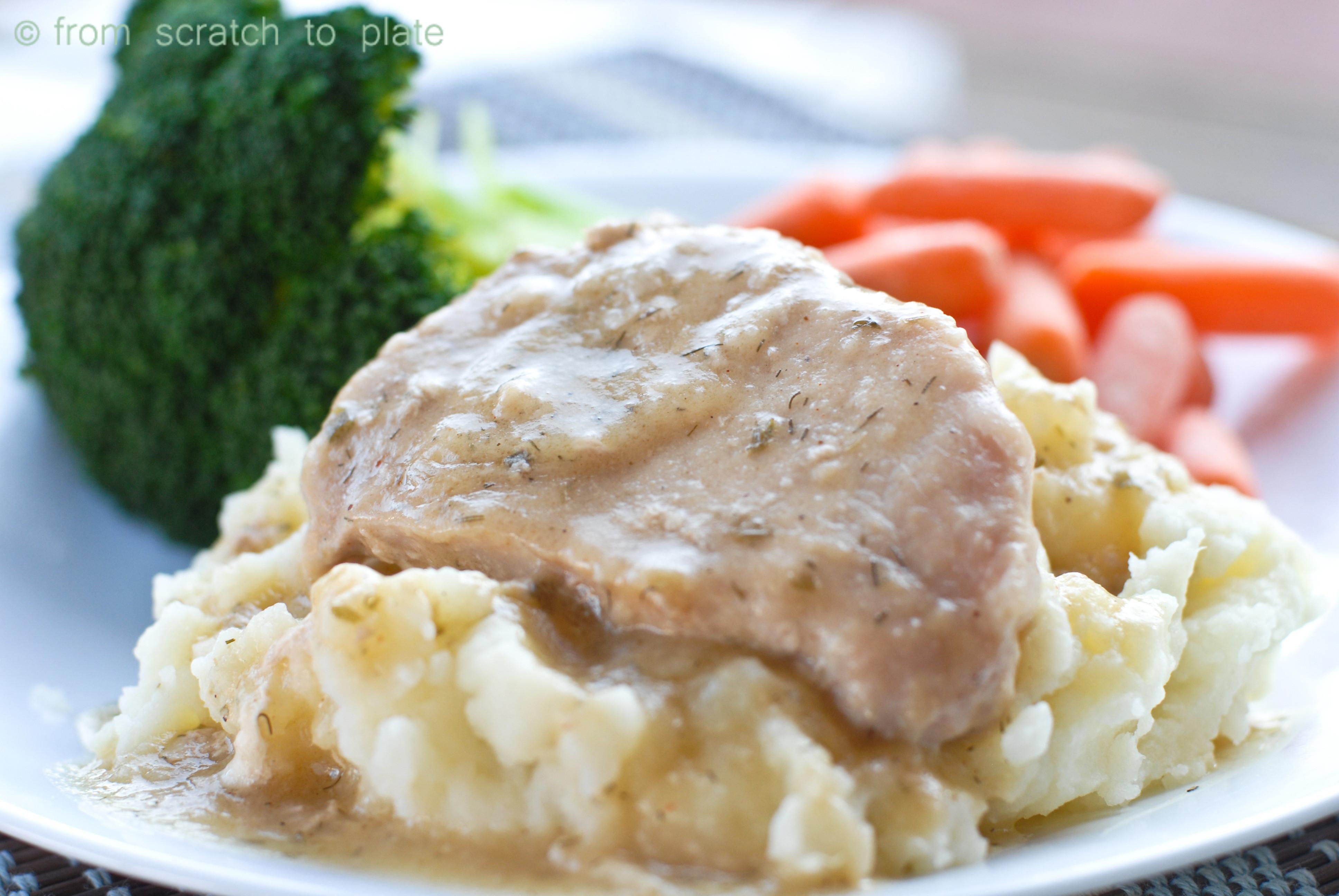 Slow Cooker Ranch Pork Chops  Slow Cooker Ranch Pork Chops