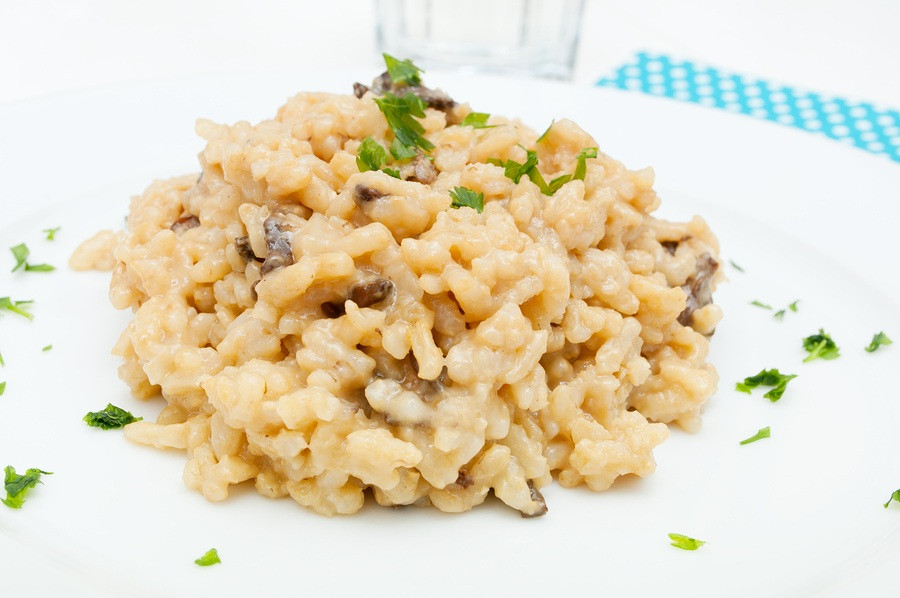 Slow Cooker Risotto  Slow Cooker Mushroom Risotto