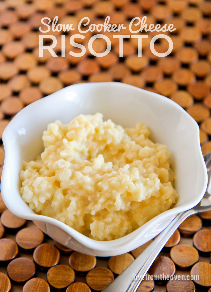 Slow Cooker Risotto  Slow Cooker Risotto And Simply Balanced At Tar