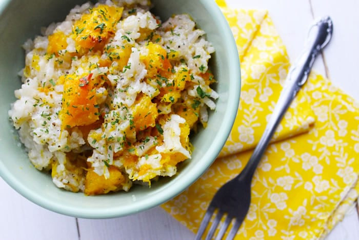 Slow Cooker Risotto  Slow Cooker Pumpkin Risotto