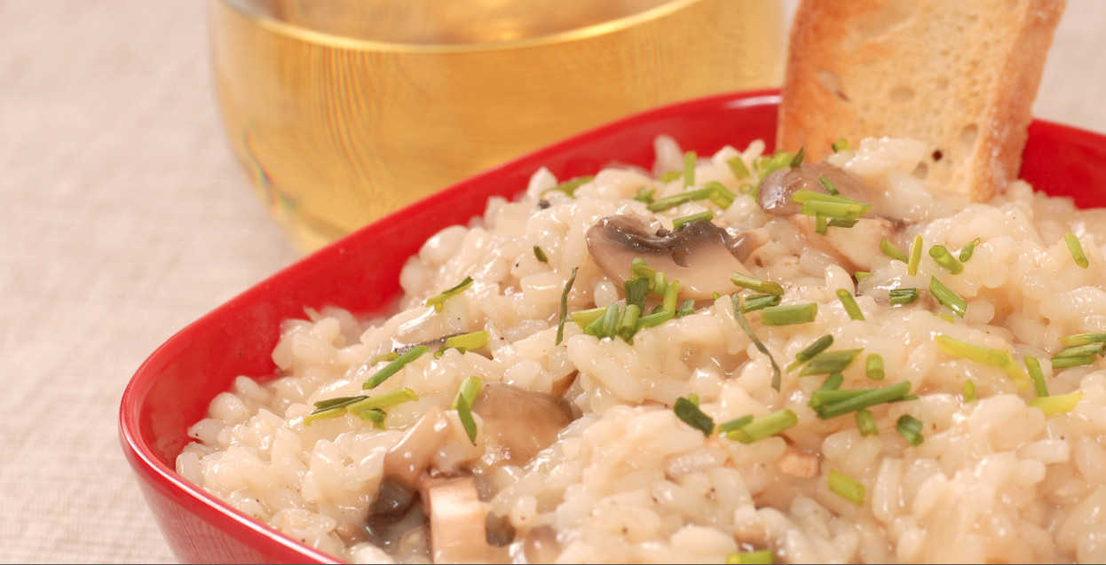 Slow Cooker Risotto  Get Crocked – Slow Cooker Risotto with Mushrooms