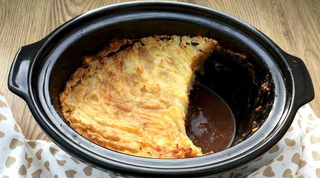 Slow Cooker Shepherd'S Pie  forting Slow Cooker Cottage Pie BakingQueen74