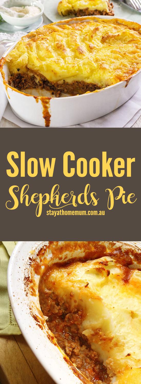 Slow Cooker Shepherd'S Pie  Slow Cooker Shepherd s Pie