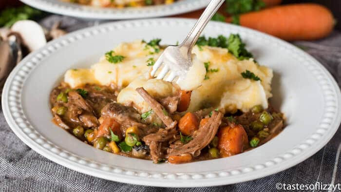 Slow Cooker Shepherd'S Pie  Slow Cooker Shepherd s Pie with Roast Beef Real Food
