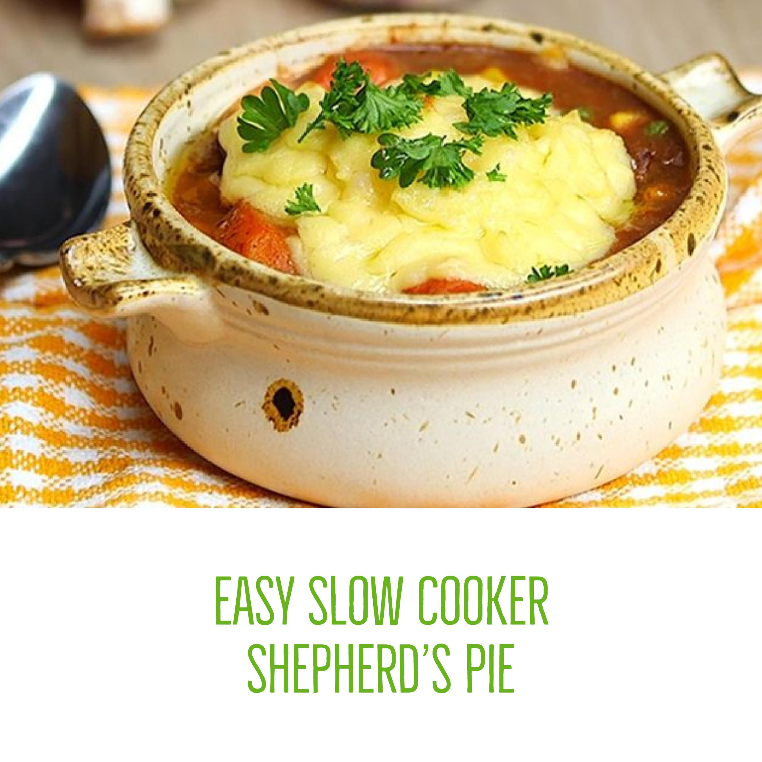 Slow Cooker Shepherd'S Pie  Easy & Delicious Slow Cooker Shepherd s Pie