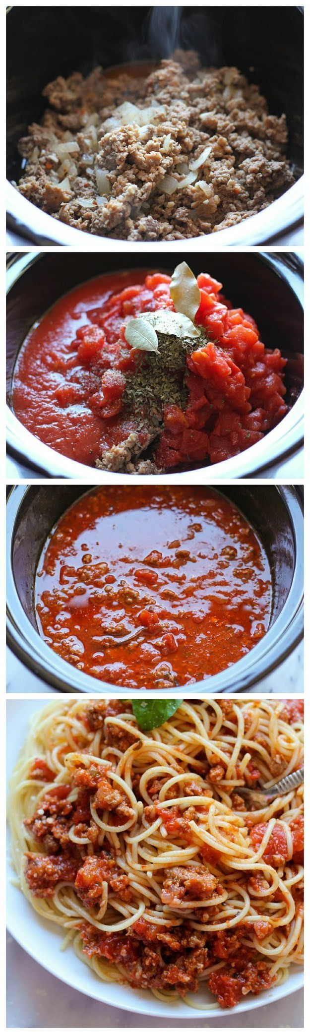Slow Cooker Spaghetti Sauce  15 Best Recipes to Get Red Sauce Pretty Designs