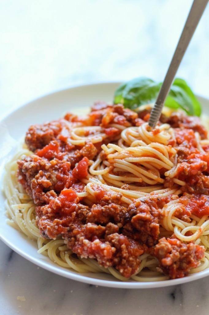 Slow Cooker Spaghetti Sauce  Slow Cooker Spaghetti Sauce