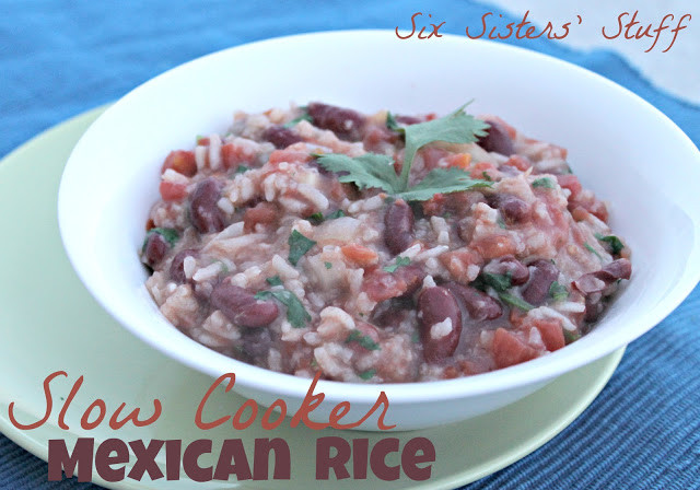 Slow Cooker Spanish Rice  Slow Cooker Mexican Rice