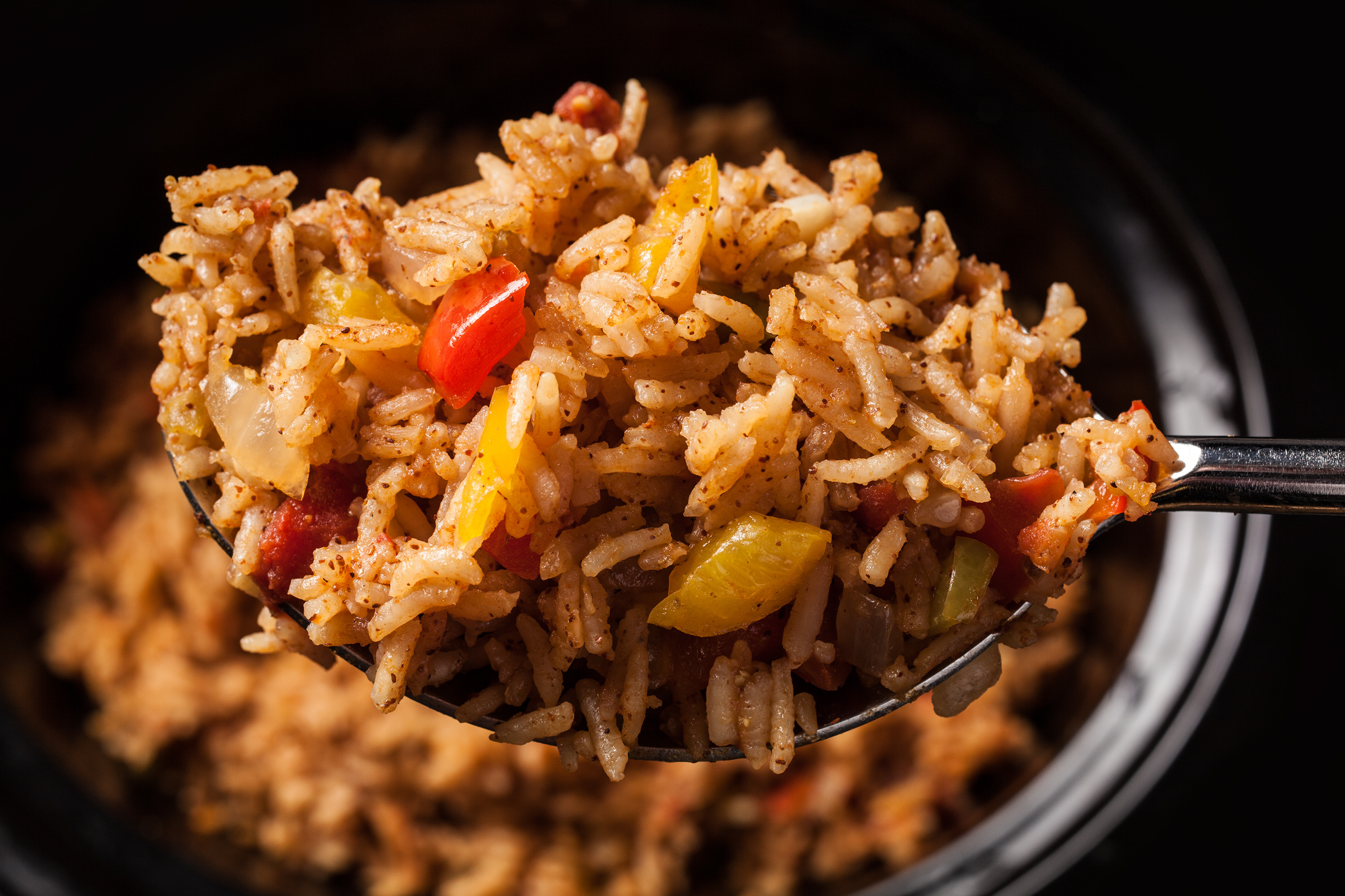 Slow Cooker Spanish Rice  Slow Cooker Spanish Rice Recipe Chowhound