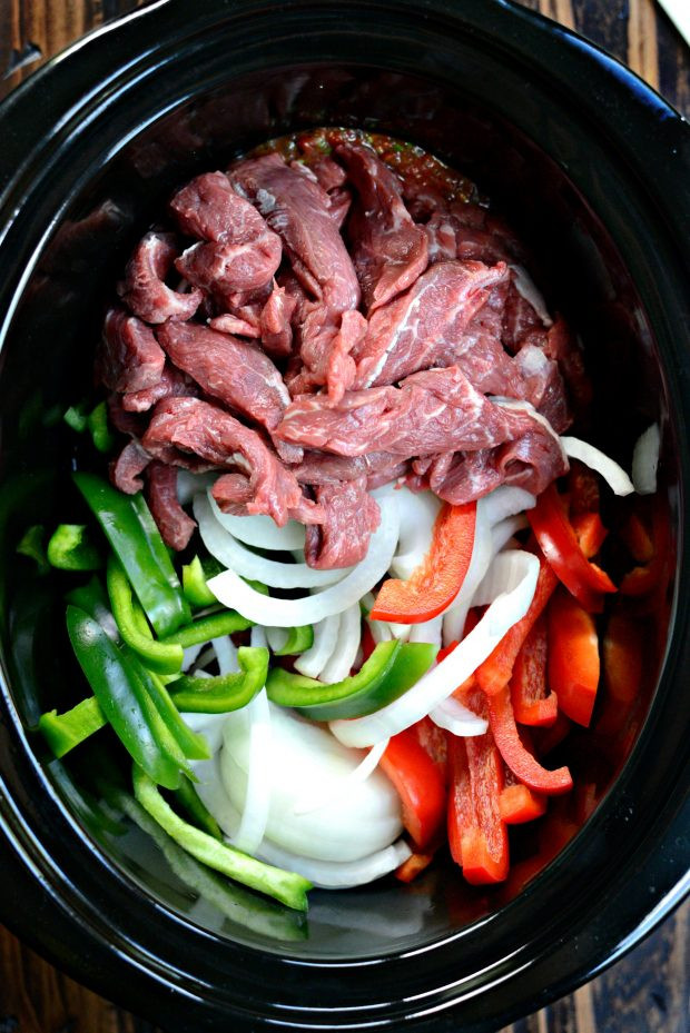 Slow Cooker Steak Fajitas  Simply Scratch 5 ingre nt Slow Cooker Steak Fajitas