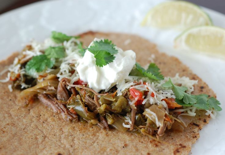 Slow Cooker Steak Fajitas  Crock Pot Slow Cooked Flank Steak Recipe — Dishmaps