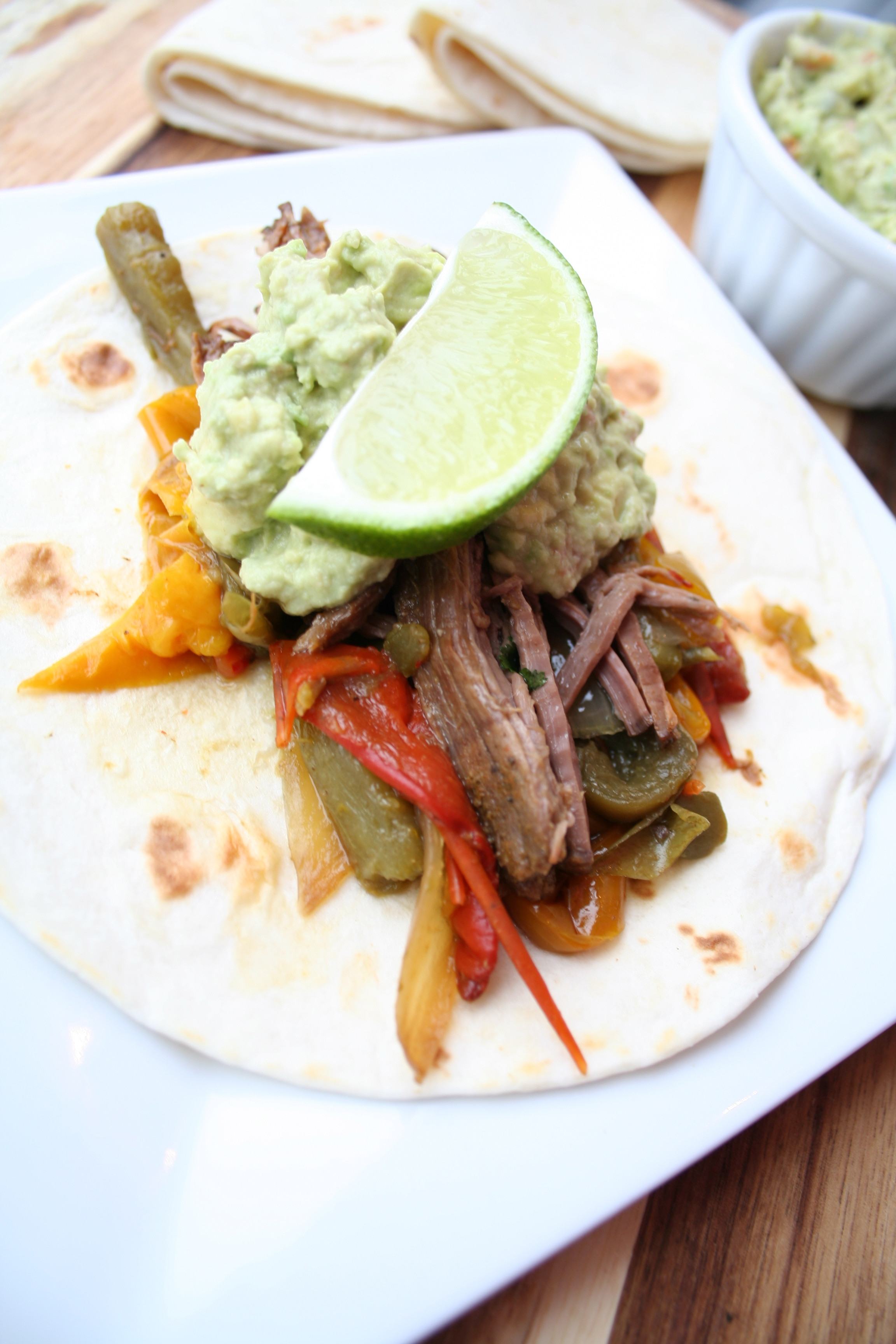 Slow Cooker Steak Fajitas  Slow Cooker Steak Fajitas The Magical Slow CookerThe
