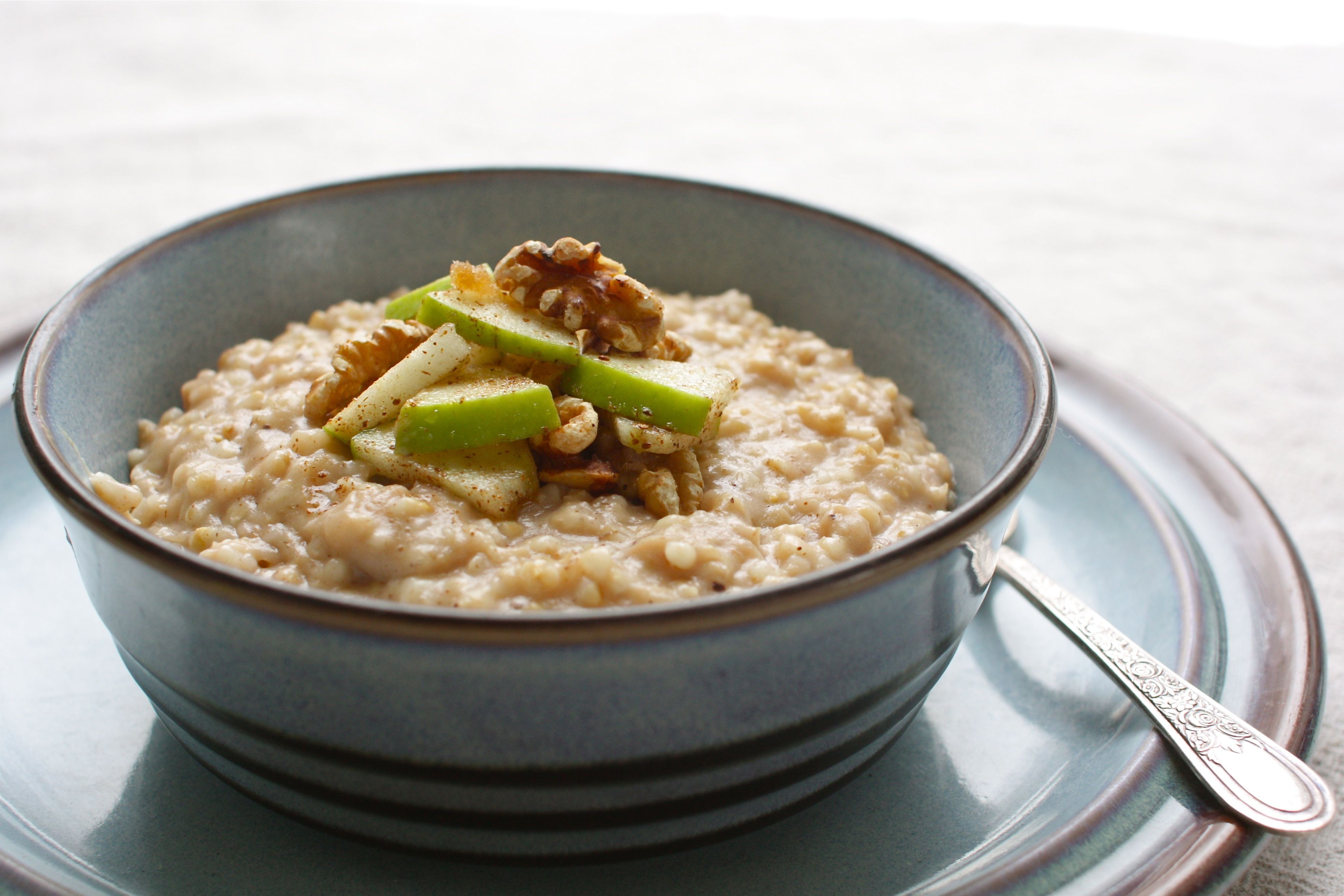 Slow Cooker Steel Cut Oats  How to Cook Apple Pie Steel Cut Oats in a Slow Cooker