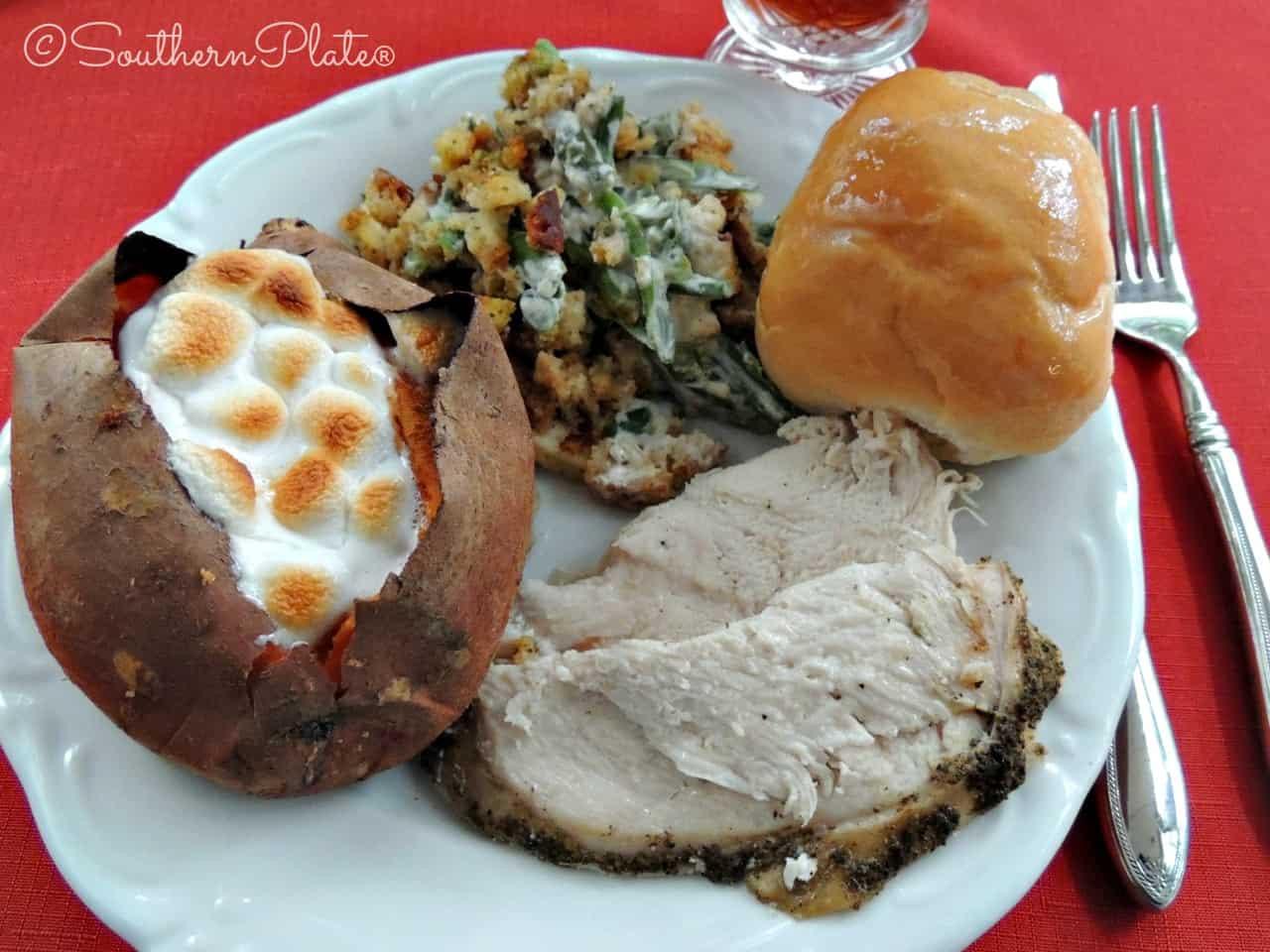 Slow Cooker Thanksgiving Turkey  Slow Cooker Turkey Breast – My little Thanksgiving