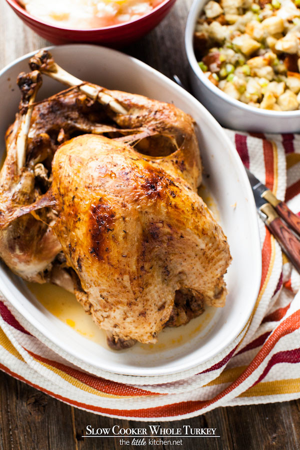 Slow Cooker Thanksgiving Turkey  slow cooker thanksgiving turkey