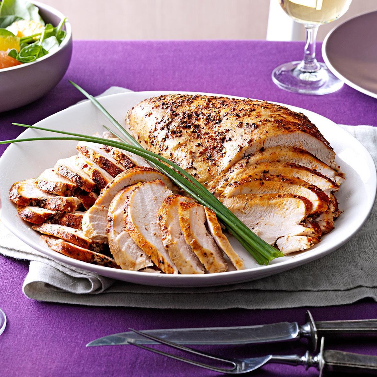 Slow Cooker Thanksgiving Turkey  Slow Cooker Turkey Breast Recipe