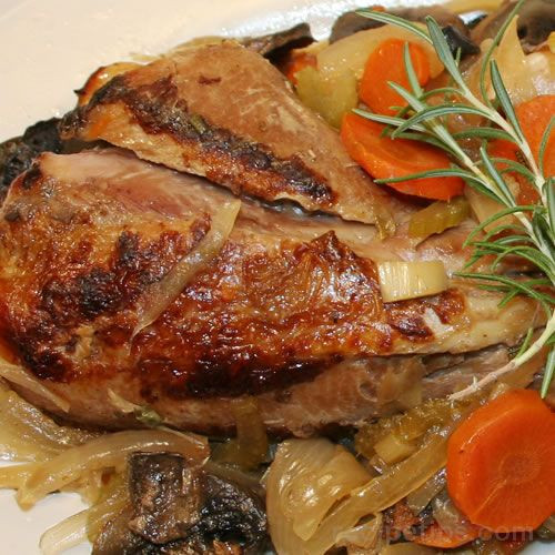 Slow Cooker Turkey Legs  Slow Cooker Turkey Legs with Ve ables Recipe Image