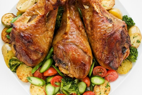 Slow Cooker Turkey Legs  Slow Cooker Turkey Legs
