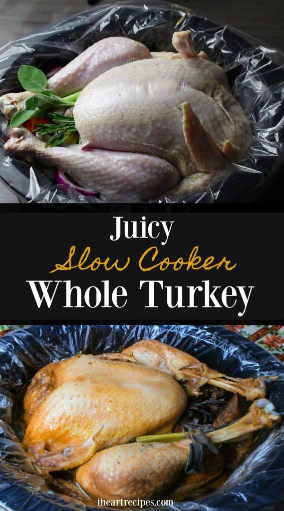 Slow Cooker Whole Turkey  Slow Cooker Whole Turkey