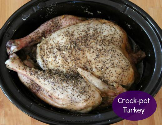 Slow Cooker Whole Turkey  Easy Crock Pot Turkey Practical Stewardship