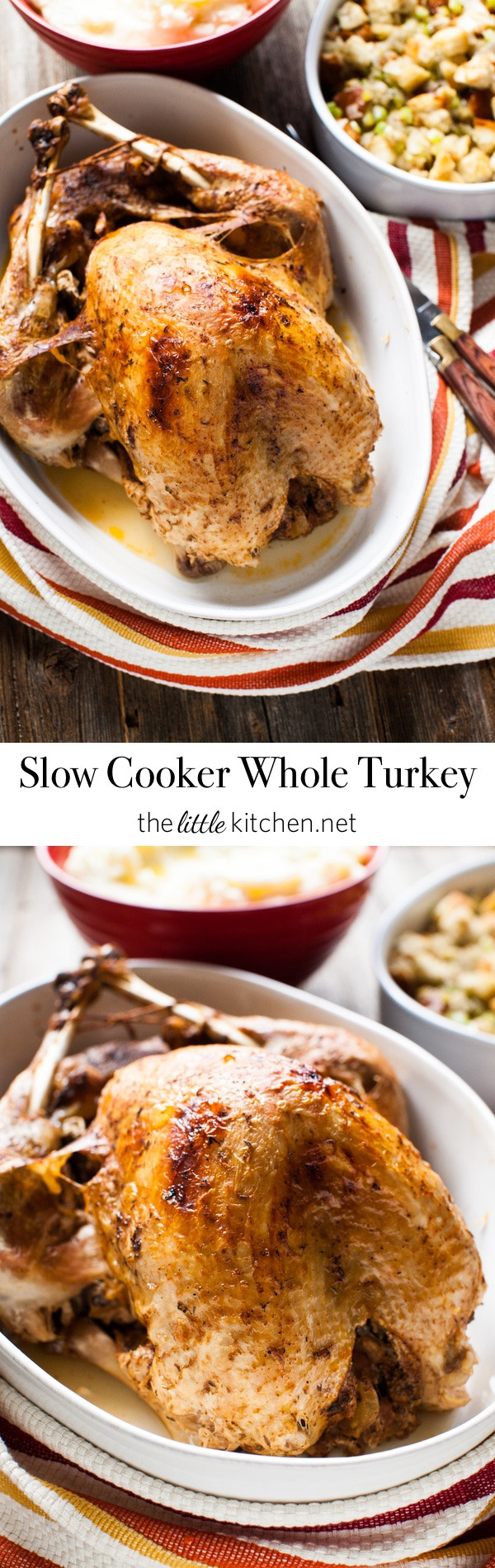 Slow Cooker Whole Turkey  Slow Cooker Whole Turkey The Little Kitchen