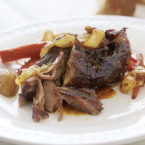 Slow Roast Pork Shoulder  Slow Roasted Pork Shoulder with Carrots ions and