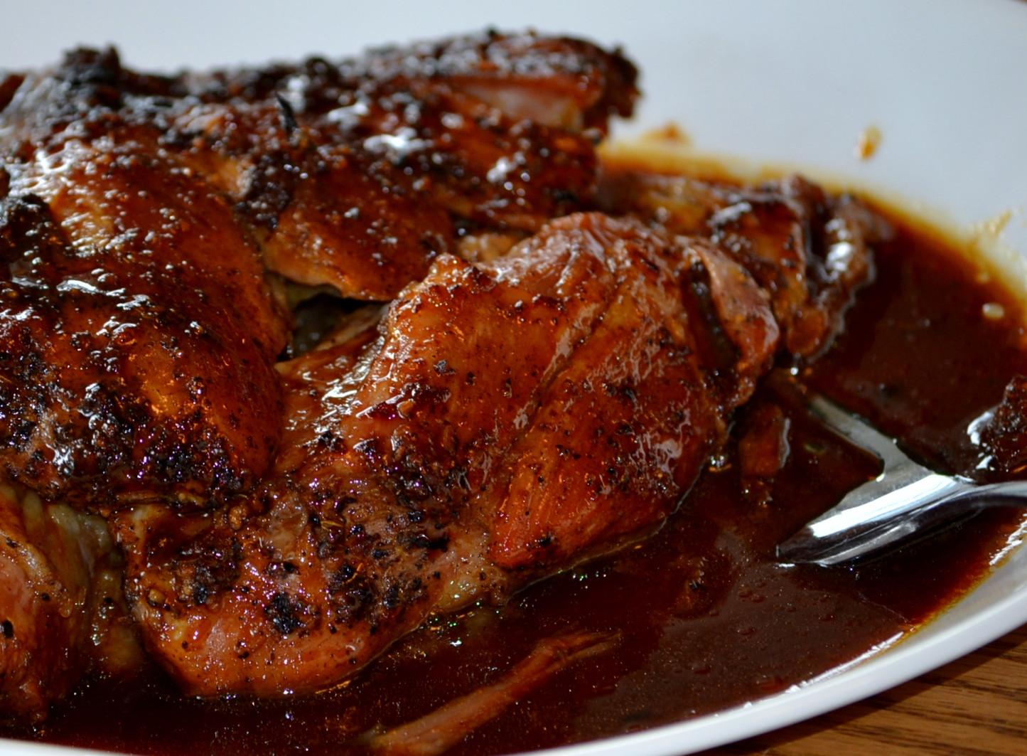Slow Roast Pork Shoulder  Slow Roasted Pork Shoulder – Seasons Best Eats