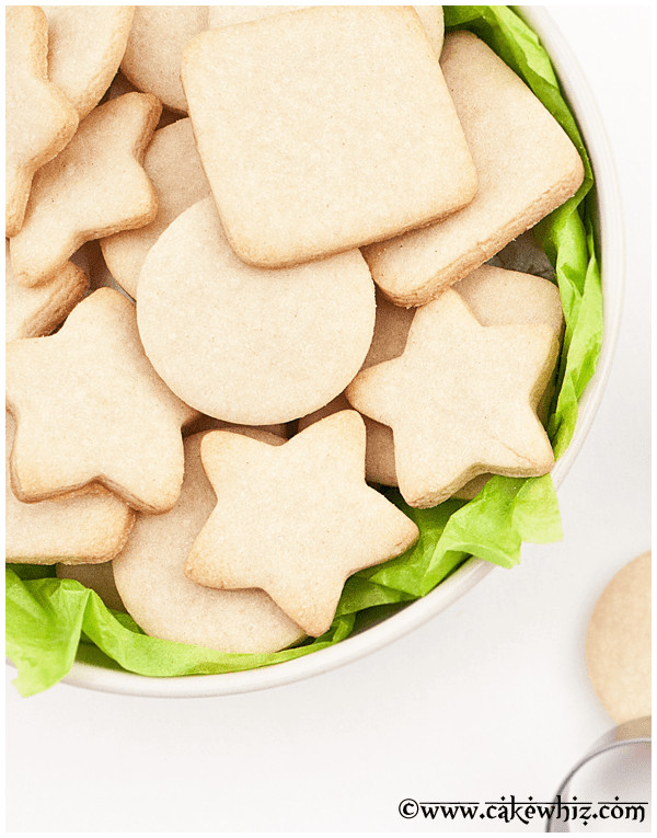 Small Batch Sugar Cookies  26 Freezable Christmas Cookie Recipes
