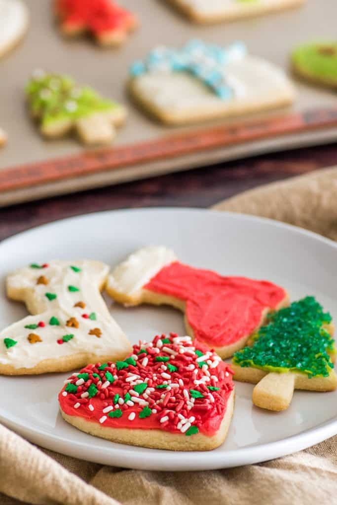 Small Batch Sugar Cookies  Small Batch of Cut out Sugar Cookies No chill Baking