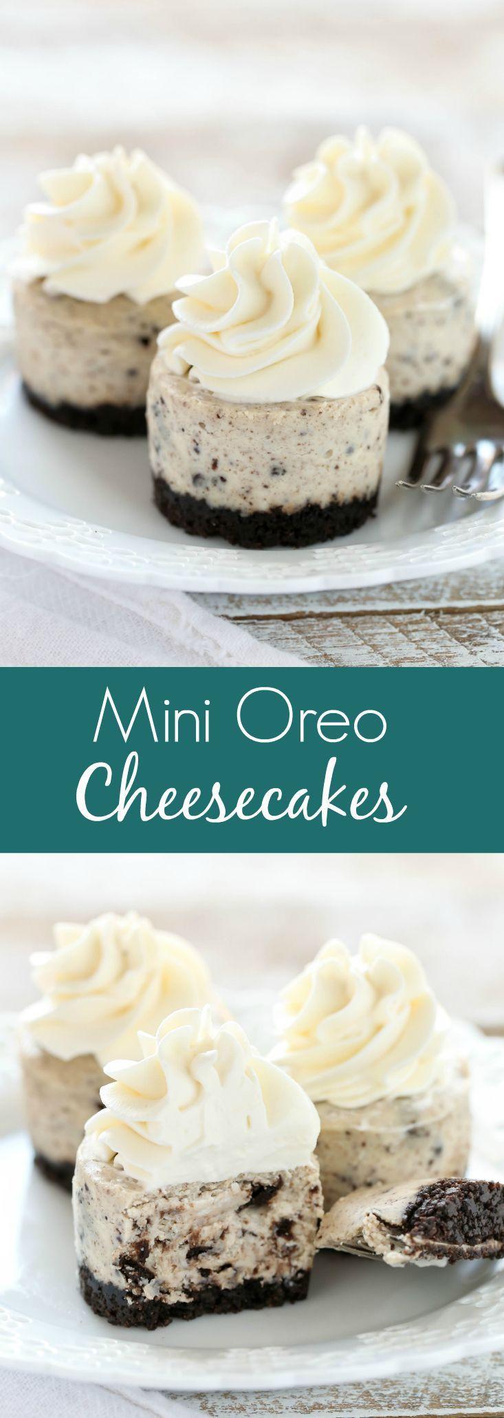 Small Cheesecake Recipe  The 25 best mini Desserts ideas on Pinterest