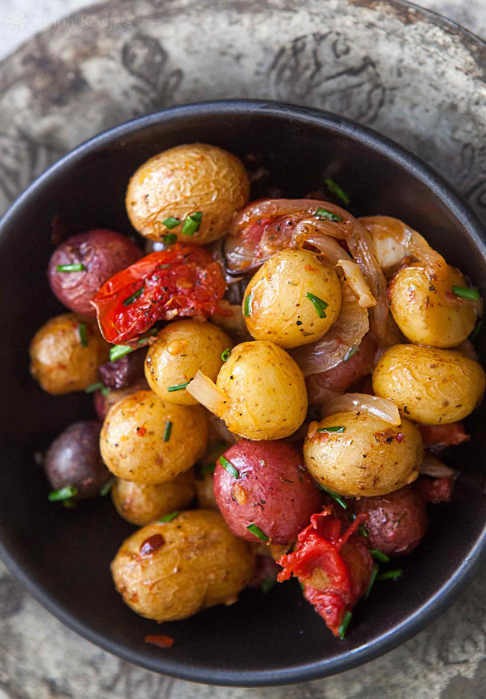 Small Potato Recipes  Provencal New Potatoes Recipe