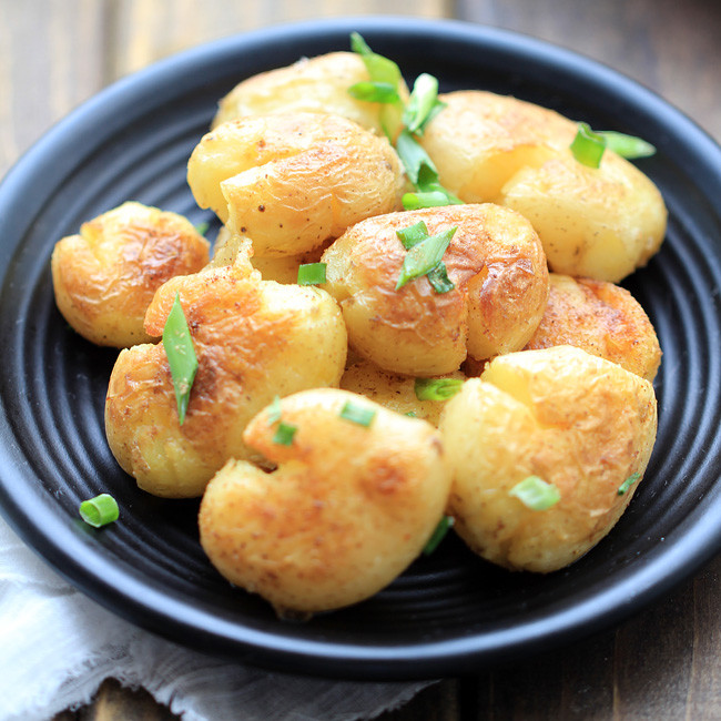 Small Potato Recipes  Sautéed Small Potatoes with Salt and Pepper