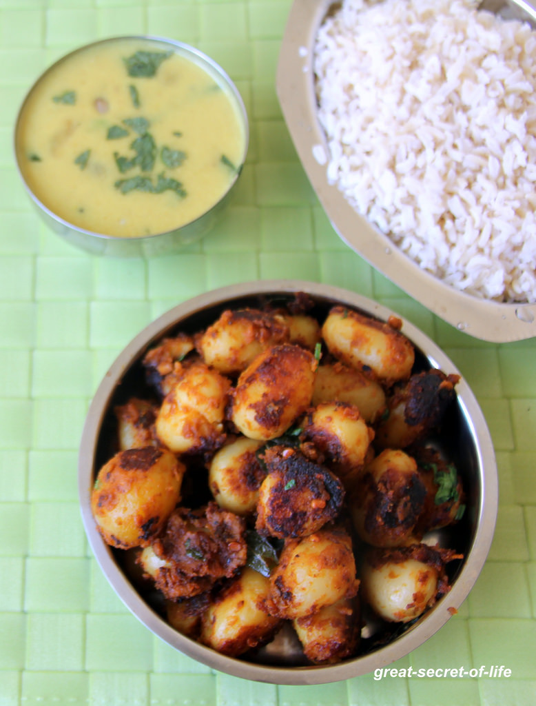 Small Potato Recipes  Baby Potatoes Fry Small Potato fry Simple Potato