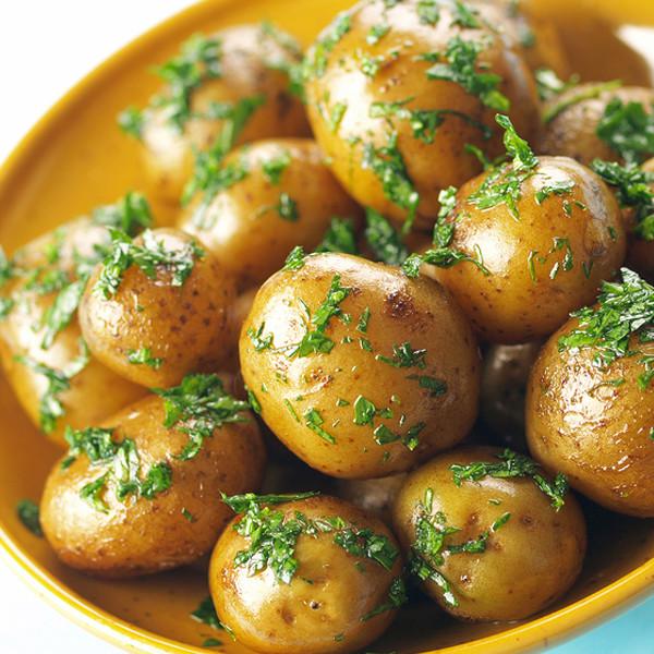 Small Potato Recipes  Roasted Baby Potatoes With Herbs Recipe
