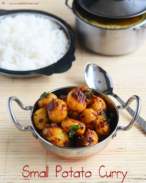 Small Potato Recipes  small potato curry recipe