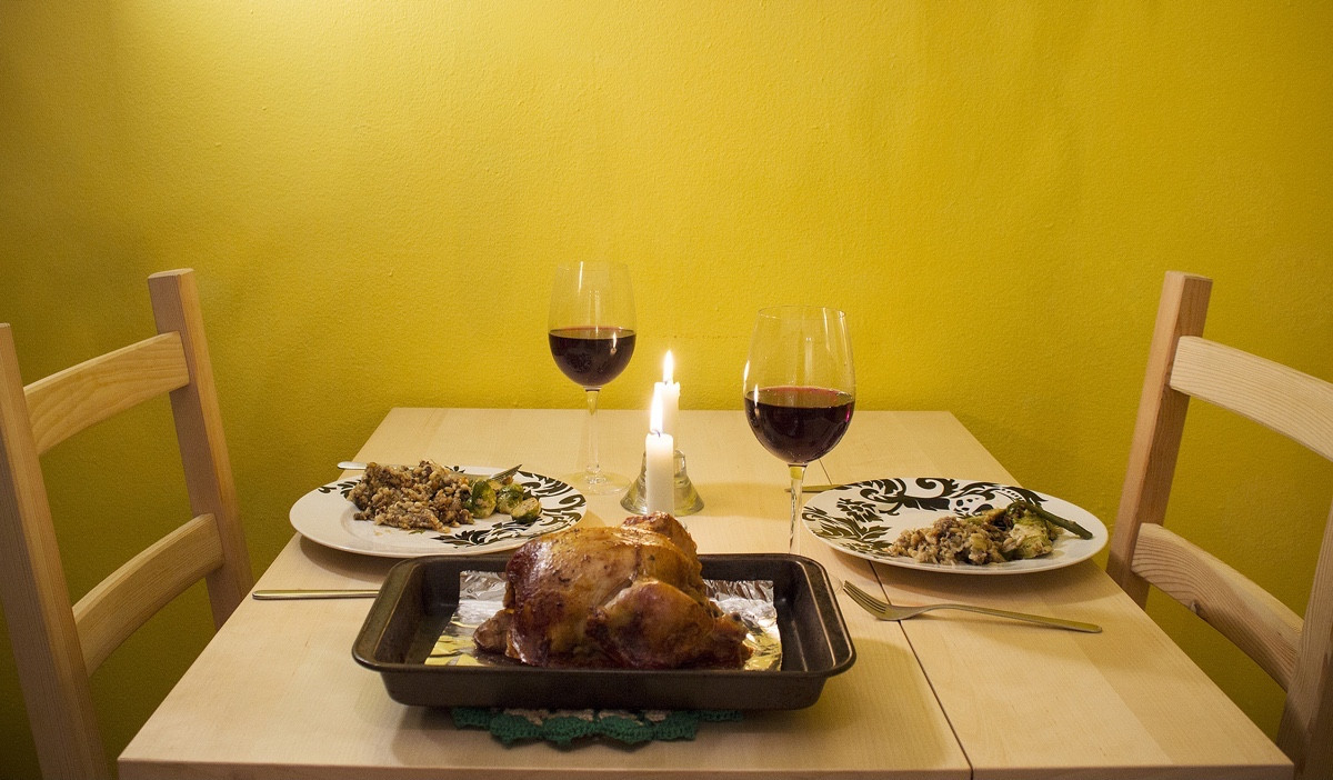 Small Thanksgiving Dinner  Small Space Thanksgiving Dinner Tips