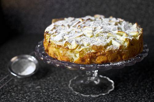 Smitten Kitchen Apple Cake  apple sharlotka