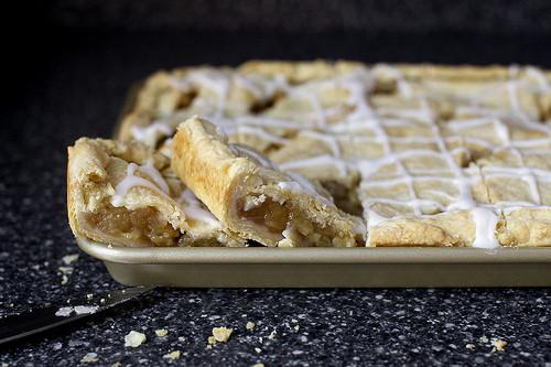 Smitten Kitchen Apple Pie  apple slab pie