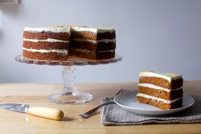 Smitten Kitchen Carrot Cake  carrot graham layer cake – smitten kitchen