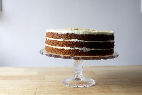Smitten Kitchen Carrot Cake  carrot graham layer cake