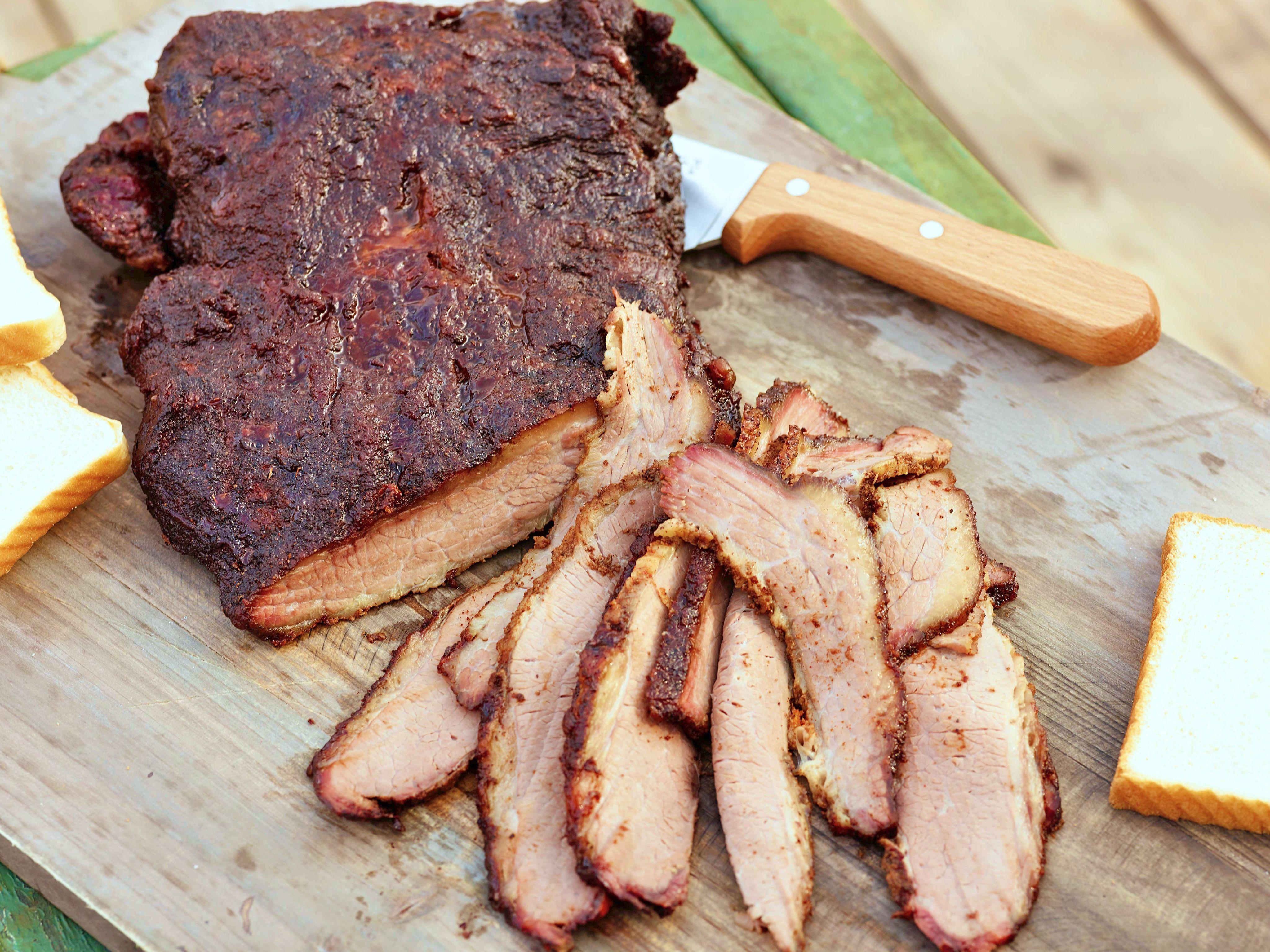 Smoked Beef Brisket  smoked beef roast marinade
