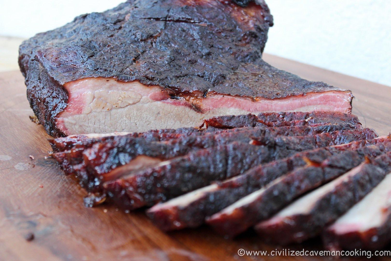 Smoked Beef Brisket  Hickory Smoked Beef Brisket
