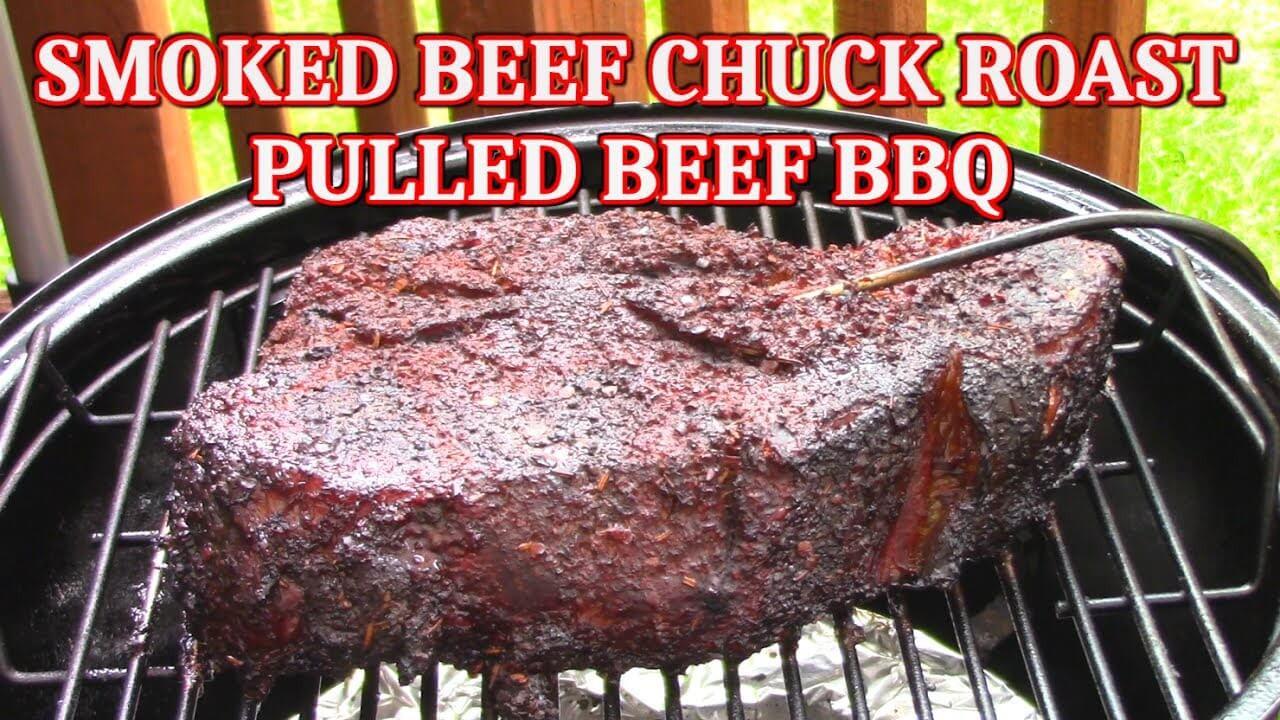 Smoked Beef Chuck Roast  How To Smoke a Beef Chuck Roast I Love Grill