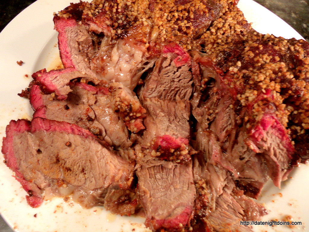 Smoked Beef Chuck Roast  Smoked Chuck Roast Date Night Doins BBQ For Two