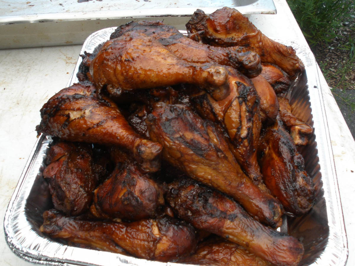 Smoked Chicken Legs  Pigtrip BBQ Review DR FRANK n SWINE Orleans MA
