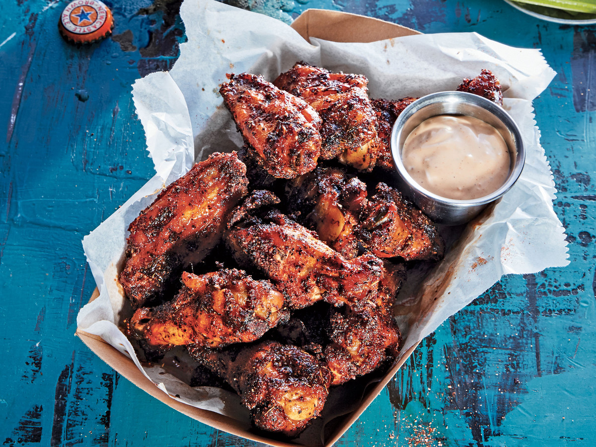 Smoked Chicken Wings  Dry Rubbed Smoked Chicken Wings Recipe Southern Living
