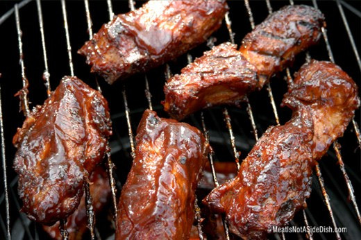Smoked Country Style Pork Ribs  Pork Loin Country Style Ribs Wet MeatIsNotASideDish