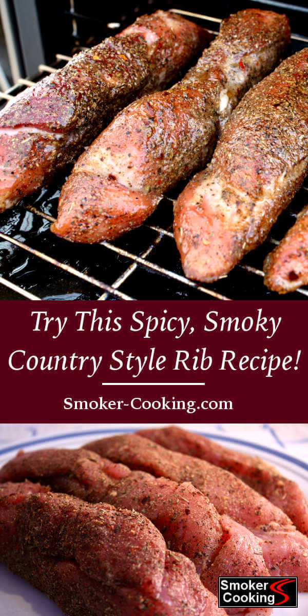 Smoked Country Style Pork Ribs  Succulent Country Style Pork Ribs Smoker Cooking