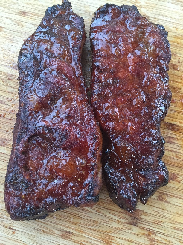 Smoked Country Style Pork Ribs  Smoked Country Style Ribs Glazed Sauced and Explained